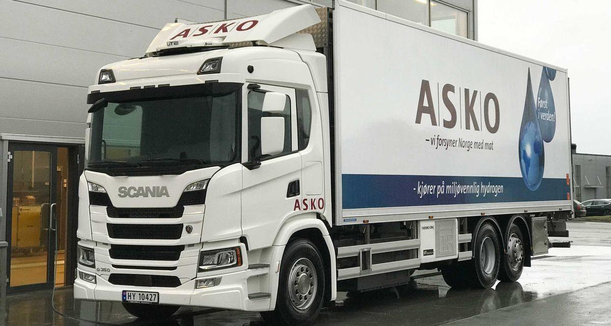Scania inicia teste com caminhões a célula de combustível