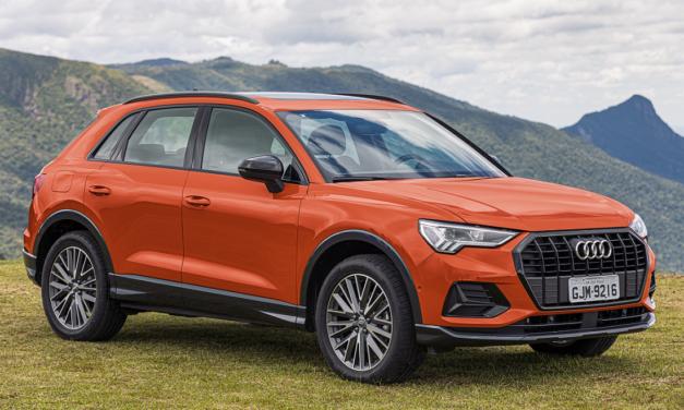 Novo Audi Q3 chega em três versões a partir de R$ 180 mil