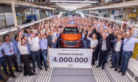 GM atinge 4 milhões de carros produzidos em Gravataí