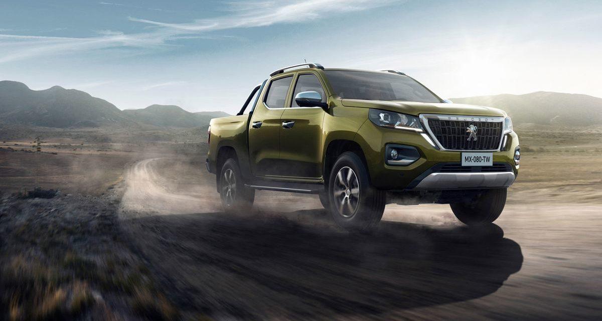 Peugeot anuncia picape média para a América Latina