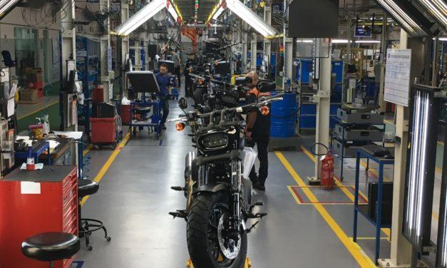 Harley-Davdson amplia produção por três anos consecutivos