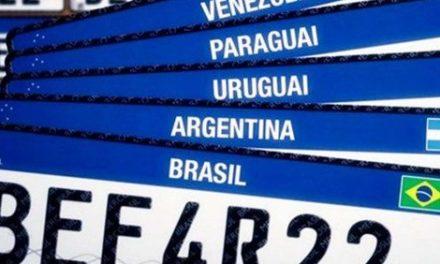 Já são mais de 14 milhões de veículos com nova placa Mercosul