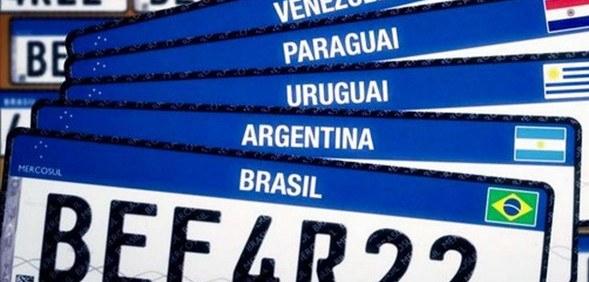 Nova placa Mercosul já está disponível em todos os estados