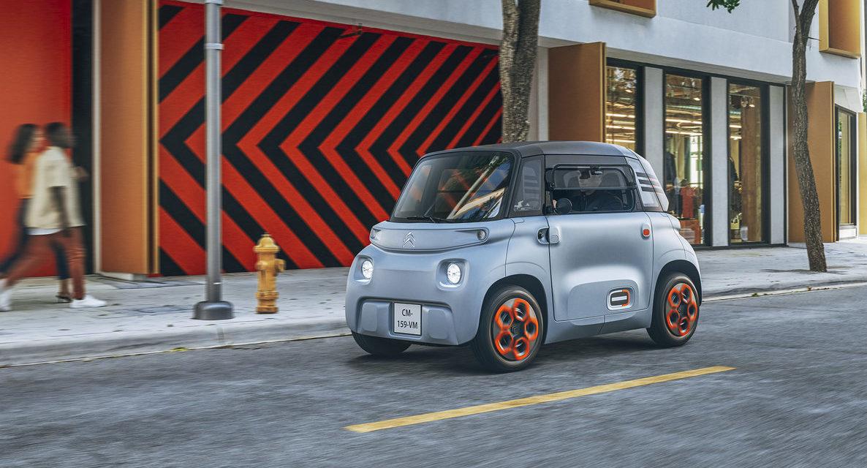 Citroën lança ultracompacto elétrico de baixo custo