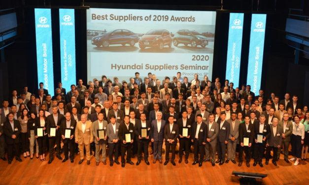 Hyundai premia fornecedores em sete categorias