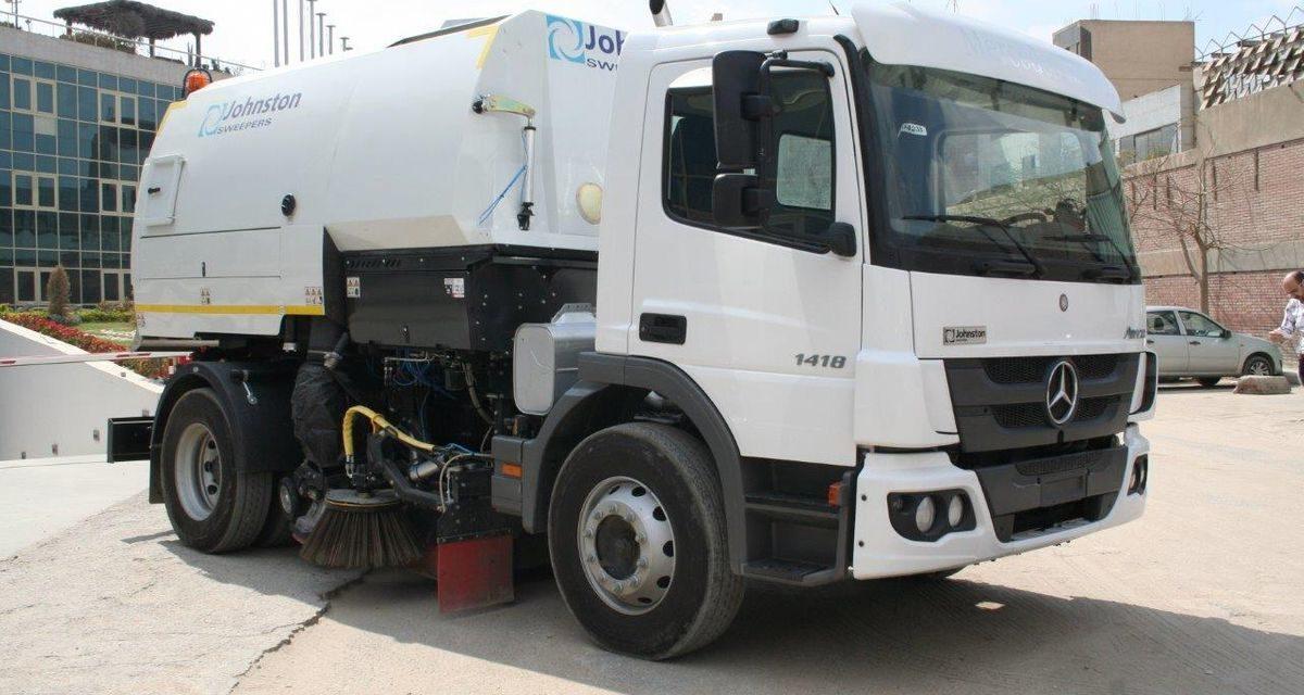 Mercedes-Benz envia 58 caminhões para o Egito