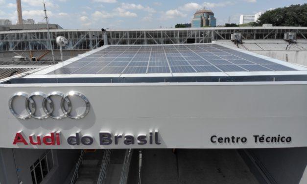 Audi investe em energia 100% limpa em seu centro técnico