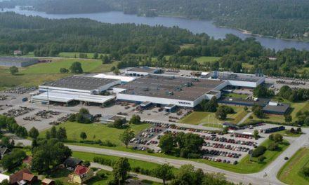 Fábrica de ônibus da Volvo produz somente com energia de fontes renováveis