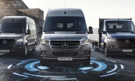 Mercedes-Benz Sprinter ganha serviços de conectividade