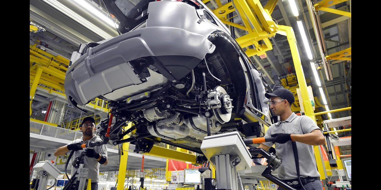 Renault e GM antecipam férias, Jaguar Land Rover decide parar