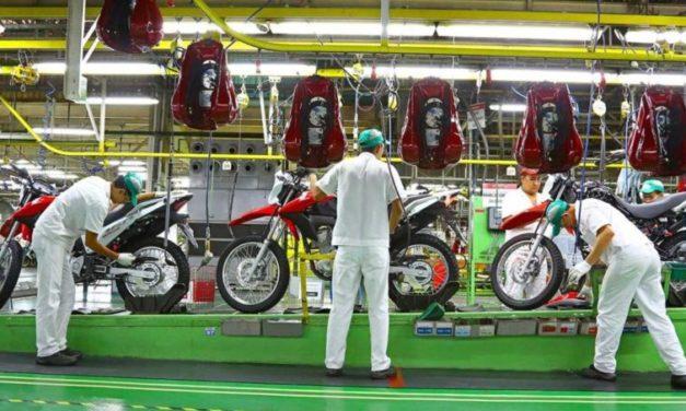 Fabricantes de motos decidem parar em Manaus