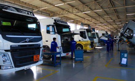 Venda de caminhões já registra declínio de 5% no trimestre