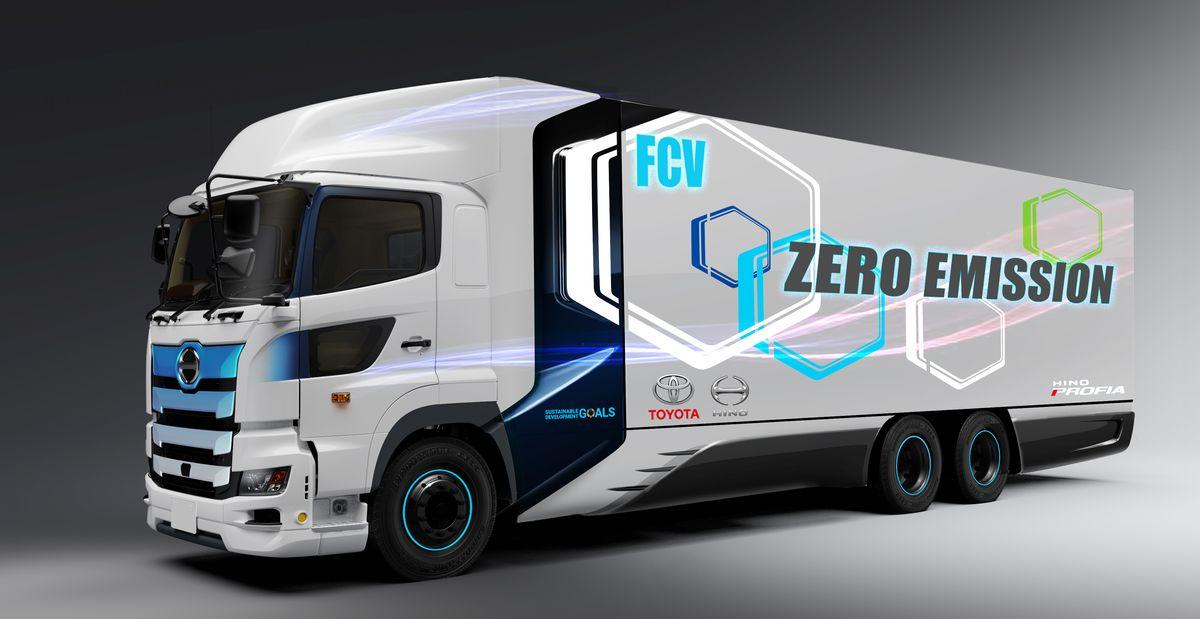 Toyota e Hino juntas em caminhão a hidrogênio