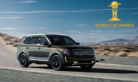 Com Telluride, Kia é a grande vencedora do World Car Awards 2020