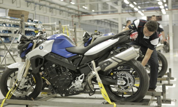 Produção de motos cai, mas nível de emprego sobe