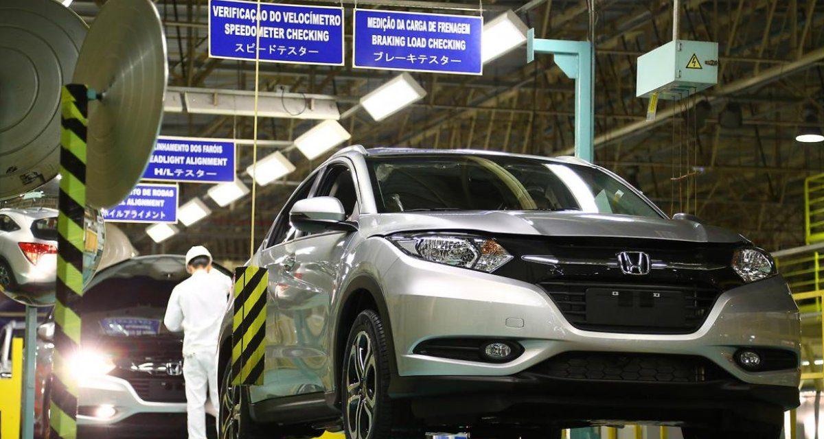 Falta de semicondutores paralisa a produção da Honda em Sumaré