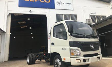 Na contramão do setor, Foton começa a produzir em Guaíba