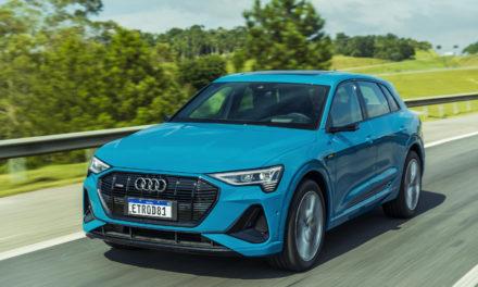 Nas revendas em duas versões, Audi e-tron custa a partir de R$ 500 mil