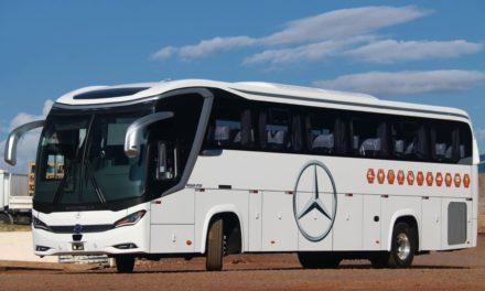 Mercedes-Benz e Mascarello levam ônibus-modelo para o Equador