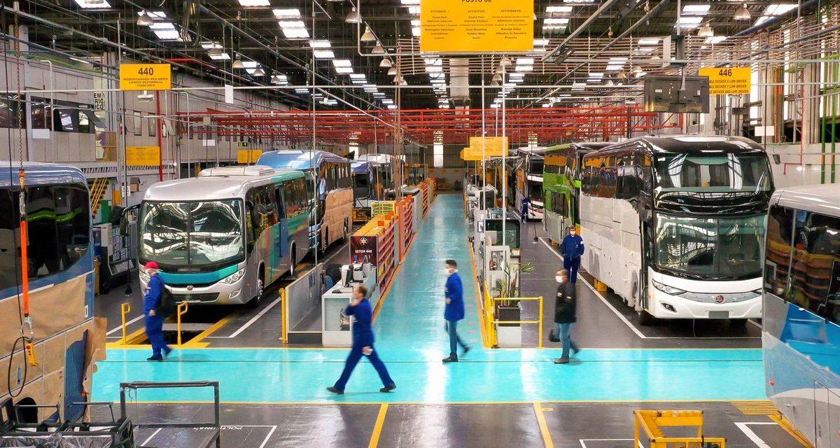 Receita da Marcopolo cresce 2,3% no primeiro trimestre