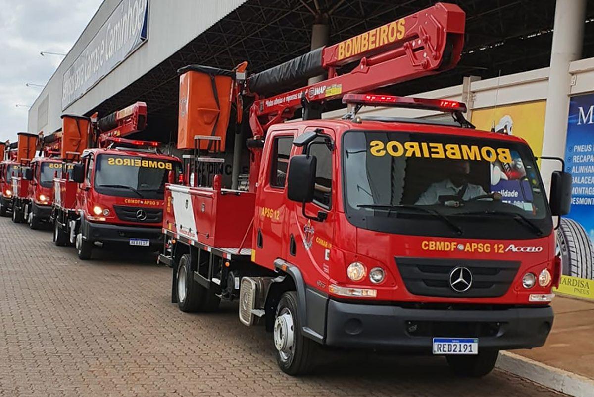 Mercedes-Benz - Corpo de Bombeiros DF - autoindustria
