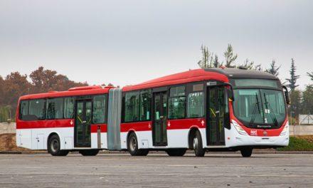Volvo participa da renovação da frota de Santiago com mais 200 ônibus