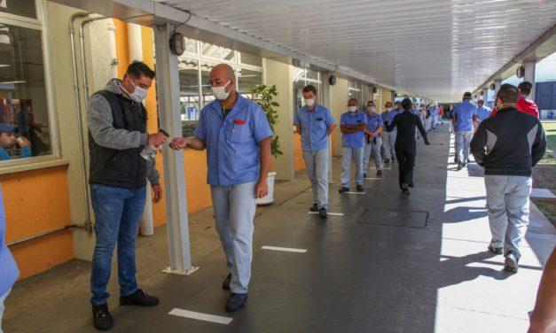 Fábrica da Anchieta da Volkswagen retorna na segunda-feira