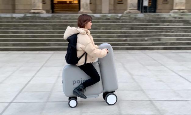Poimo, a scooter que cabe na mochila