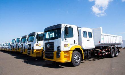 VWCO faz contrato de locação de 96 caminhões para a BC2