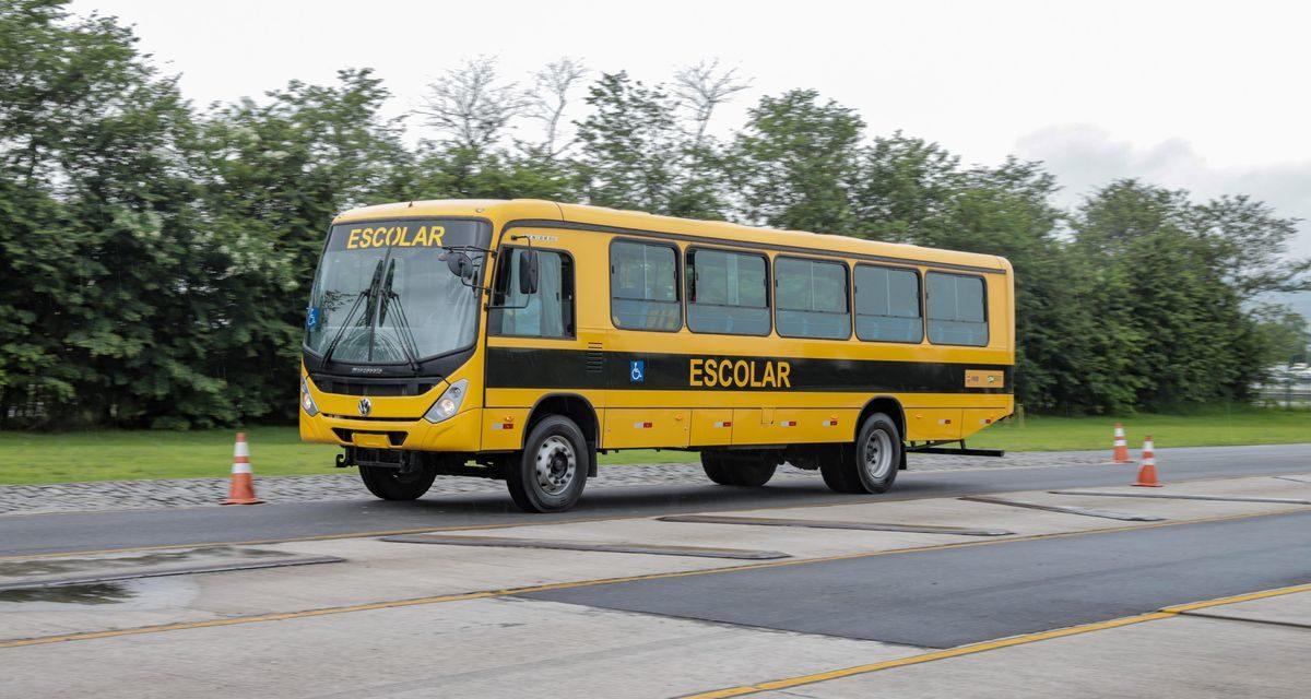 VWCO fornecerá 2,5 mil ônibus para o Caminho da Escola