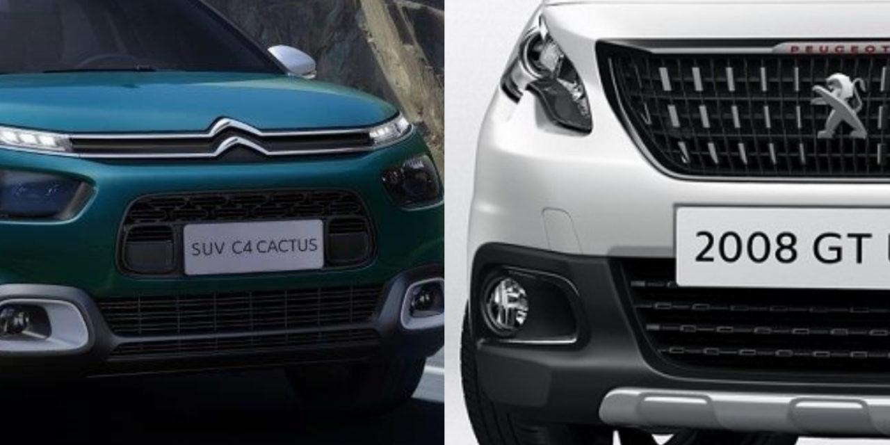 Somadas, Peugeot e Citroën têm só 1,5% do mercado brasileiro