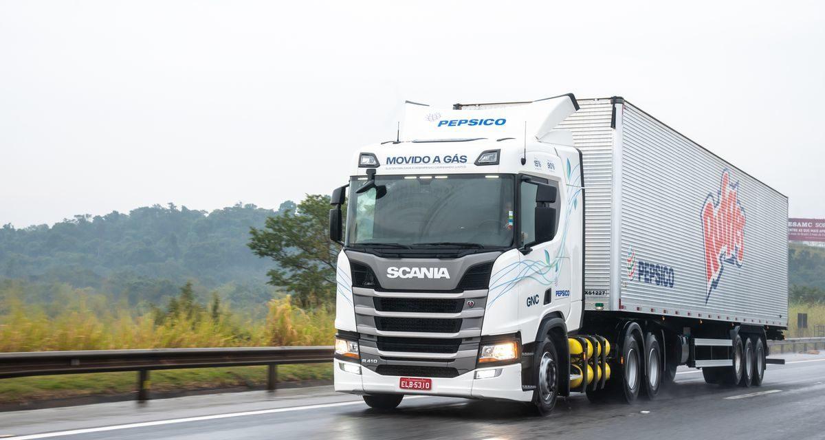 Scania acumula 50 caminhões a gás vendidos no País em um ano