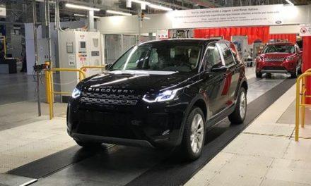Jaguar Land Rover volta a operar em Itatiaia