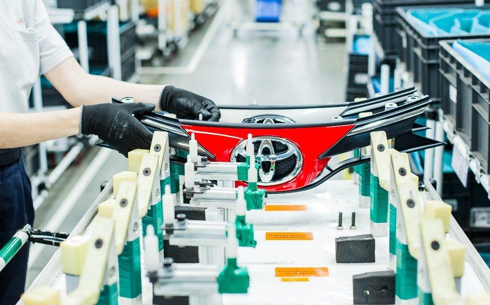 Toyota suspende produção na fábrica de Sorocaba