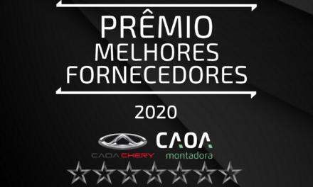 Caoa divulga lista das empresas vencedoras de 2019