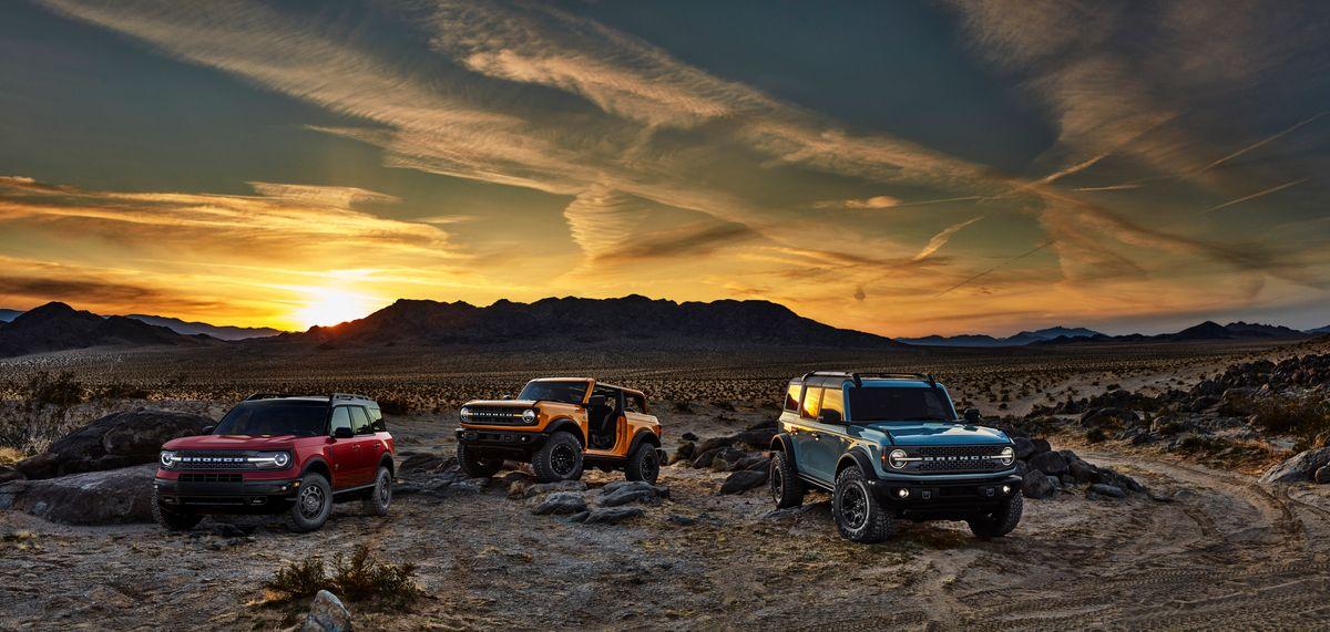 Ford revive o Bronco, agora como uma família