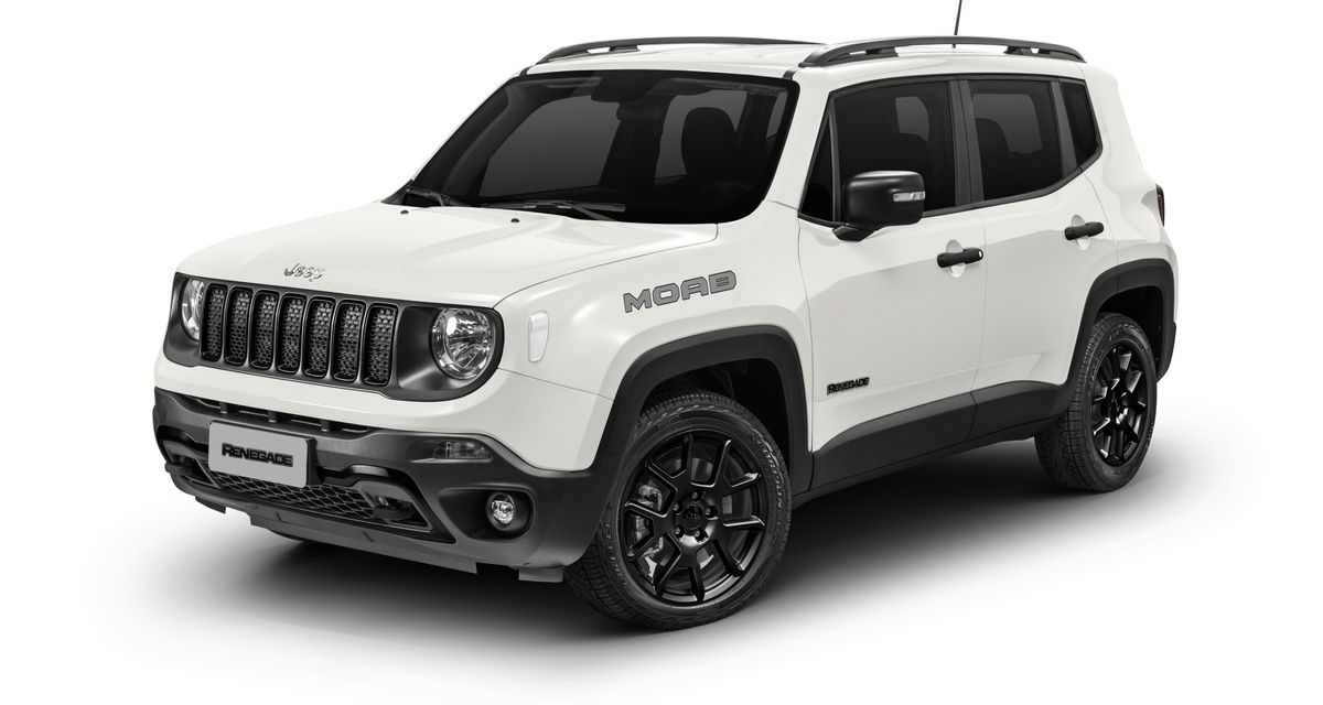 Moab, a nova versão turbo diesel do Jeep Renegade