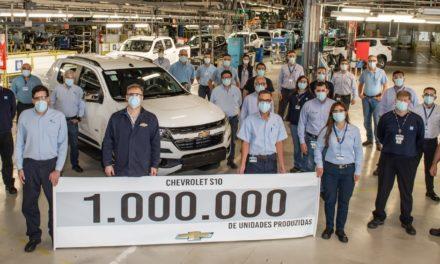 Os 25 anos de mercado da Chevrolet S10