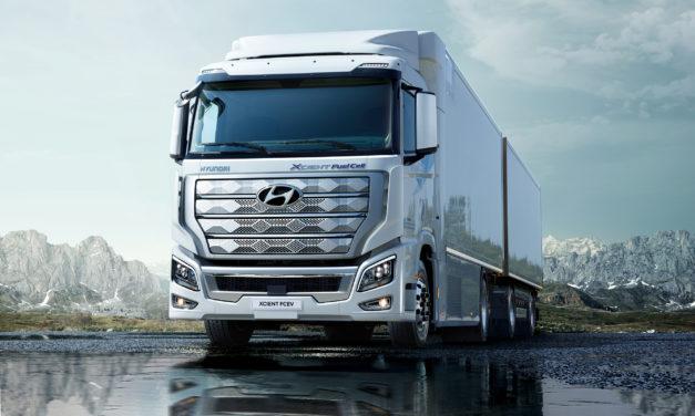 Hyundai já exporta caminhão a célula de combustível para a Europa