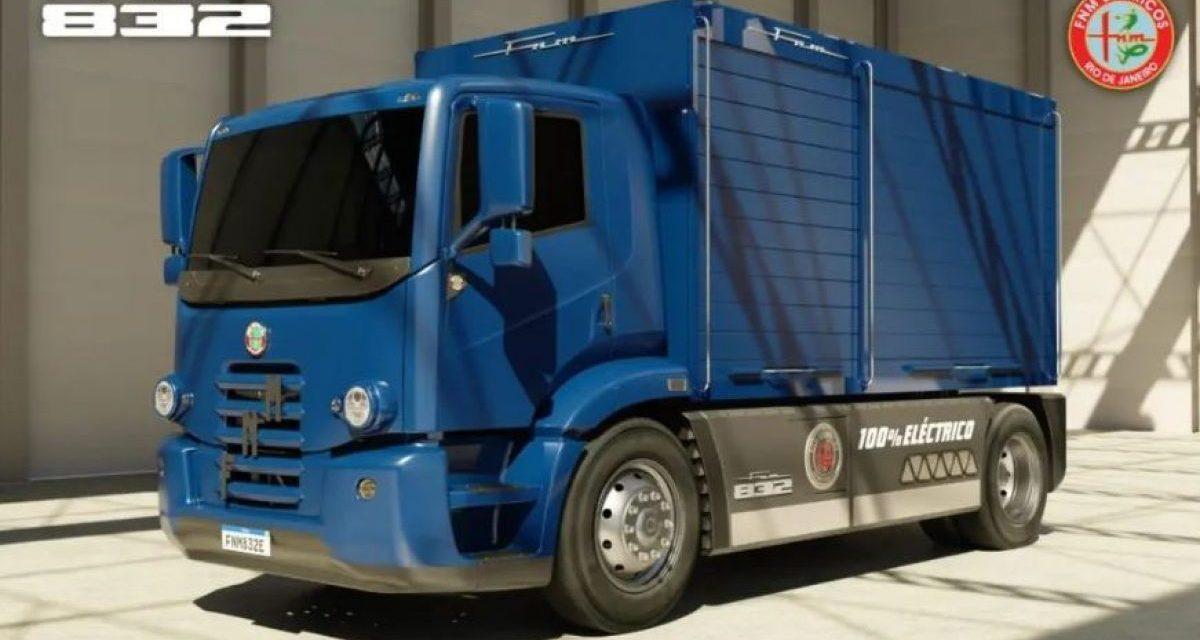 FNM está de volta, agora como caminhão elétrico