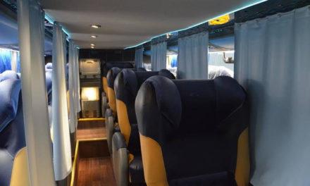 Marcopolo mostra ônibus com tecnologia BioSafe na Argentina