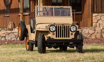 Primeiro veículo civil da Jeep completa 75 anos