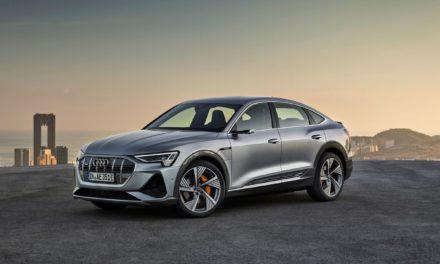 Concessionárias Audi começam a receber o e-tron Sportback