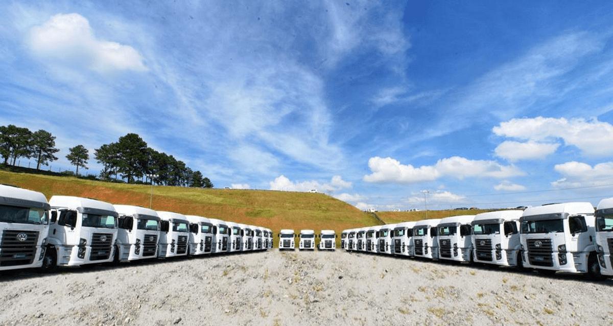 VWCO vende mais de 1,3 mil caminhões para locação
