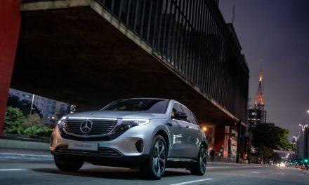 Mercedes-Benz inicia vendas do elétrico EQC 400 no País