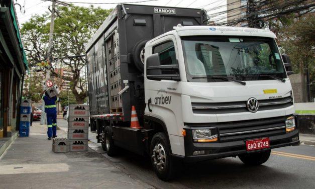 VWCO oficializa venda dos primeiros 100 e-Delivery para a Ambev