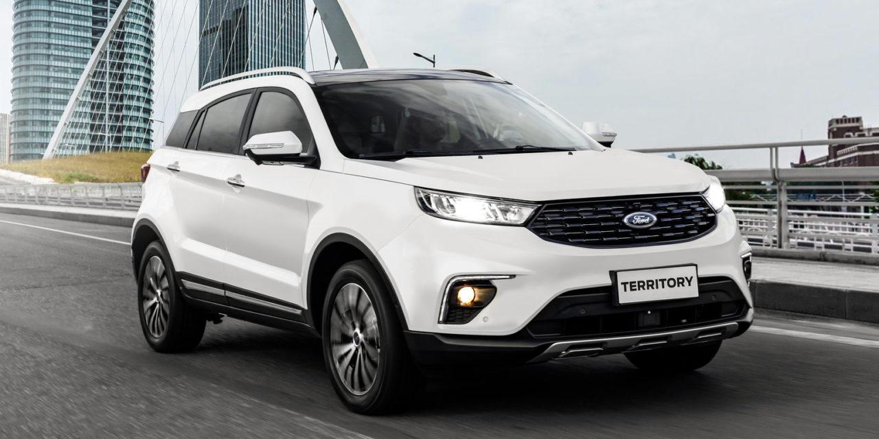 Territory coloca a Ford na briga dos SUVs médios
