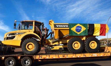 Volvo CE exporta 50 caminhões articulados para Europa