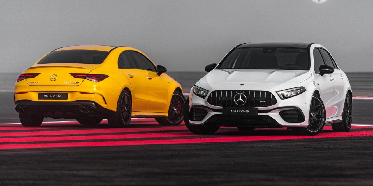 Mercedes-Benz lança os AMG A 45 e CLA 45  com 421 cavalos