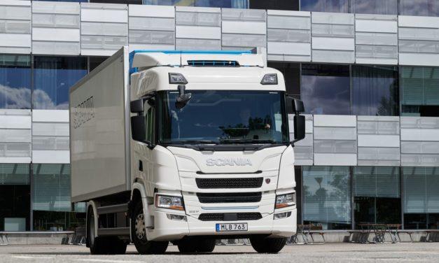 Scania lança sua primeira linha de caminhões elétricos